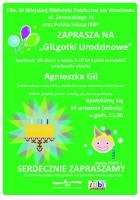 GILgotki urodzinowe - plakat