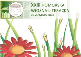 XXIII Pomorska Wiosna Literacka logo